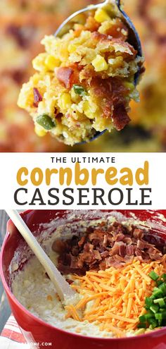 The ULTIMATE Cornbread Casserole