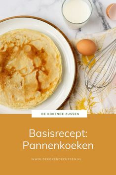 Dutch Recipes, Sweet Recipes, I Love Food, Good Food, Easy Healthy Recipes, Easy Meals, American Food, Deserts, Brunch