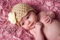 Hey, I found this really awesome Etsy listing at https://www.etsy.com/listing/129738349/crochet-baby-hat-baby-girl-hat-baby