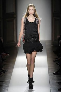 Balmain Fall 2008 Ready-to-Wear Fashion Show - Lily Donaldson