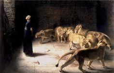 Briton Rivière - Daniel's Answer to the King (1890)
