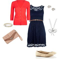 sweet dressy/casual, created by jaxx2307 on Polyvore