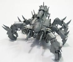 Brass Scorpion converted from Defiler and Tau skimmer.