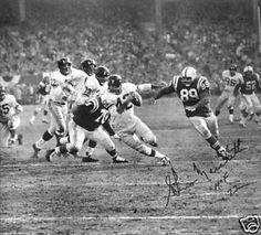 Gino Marchetti pursues Charley Conerly (1959 NFL Championship Game)