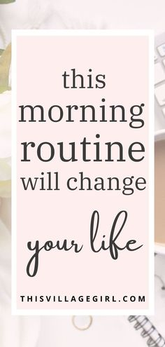this morning routine will change yor life #morningroutine #personalgrowth #goodhabits