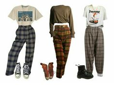 I want to wear all three of these ridiculous pants...