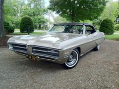 1967 Pontiac Grand Prix Convertible  Maintenance/restoration of old/vintage vehicles: the material for new cogs/casters/gears/pads could be cast polyamide which I (Cast polyamide) can produce. My contact: tatjana.alic@windowslive.com