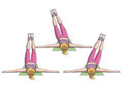 Esercizi addominali da fare in casa per avere una pancia piatta. Con il nostro circuito avrai addominali per stabilizzare la postura e sostenere i visceri