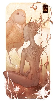 Crows Parliament by Felideus Bubastis, via Behance