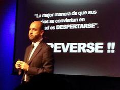 La mejor manera de q sus sueños se conviertan en realidad es DESPERTSRSE Y ATREVERSE!! @juanjofraile en #TEDxMoncloa