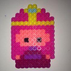 Princess Bubblegum -  Adventure Time perler beads by meganmorphine