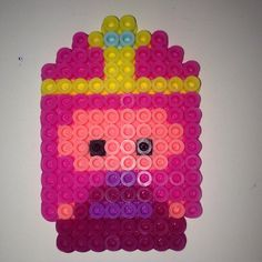 Princess Bubblegum -  Adventure Time perler beads by meganmorphine