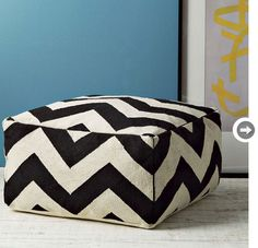 Chevrons add a perfectly bold statement to any room