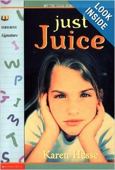 Just Juice (Scholastic Signature): Karen Hesse, Robert Andrew Parker: 9780590033831: Amazon.com: Books