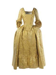 Robe à la française: 1751-1770.