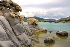 Strange Volcanic Rocks at Kolibithres Pays Europe, Beach List, Paros Island, Portugal, Volcanic Rock, Greece Travel, Greek Islands, France, Wonderful Places