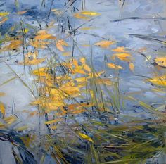 Leaves and Grasses - Oil