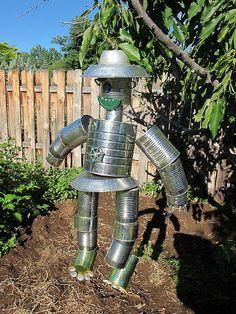tin can men for the garden