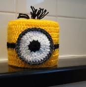 Minion Toilet Paper / Roll Cover - via @Craftsy