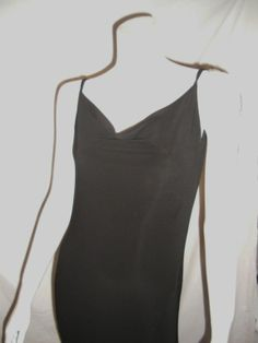 204b69a6067 OMO Norma Kamali sexy draped back vintage jersey gown