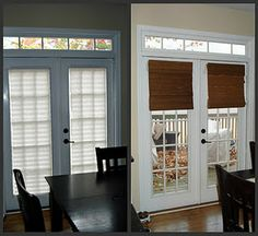Superbe Bamboo Shades On Patio Doors   Want These Throughout The House