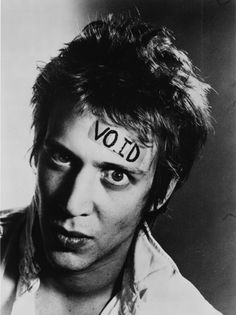 punk is just a four letter word, so is void. Richard Hell.