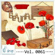 Vol. 0061 - Autumn Mix  by Doudou's Design  #CUdigitals cudigitals.com cu commercial digital scrap #digiscrap scrapbook graphics