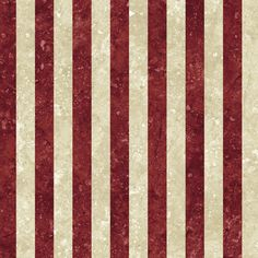 Patriotic Wavy Red and Off White Stripe Cotton Quilt Fabric by Andover