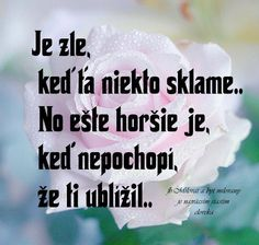 JE ZLÉ POKUD NĚKDO SKLAME Story Quotes, Sad Quotes, Motivational Quotes, Inspirational Quotes, True Facts, Wallpaper Quotes, Motto, Picture Quotes, True Stories