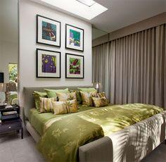 Você tem um ambiente de quarto de casal pequeno? Confiram dicas e truques para torná-lo maior e aconchegante, sem perder a funcionalidade.