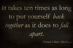 Wise words from Finnick.