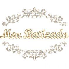 MOLDURA MEU BATIZADO 2
