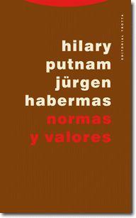 Normas y valores / Hilary Putnam, Jürgen Habermas ; introducción, traducción y notas de Jesús Vega Encabo y Francisco Javier Gil Martín
