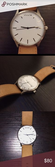 MVMT Mens Watch. MVMT watch for Men. Water resistant. Stainless Steel Accessories Watches