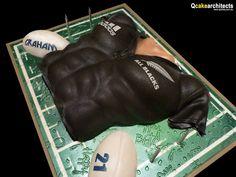 All Blacks Rugby Cake