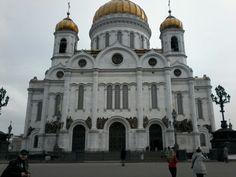 Catedral Cristo Salvador e Kremlin Moscou
