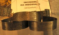 Bracciali - incisioni da indossare - www.ilgiardinodellacerorosso.com