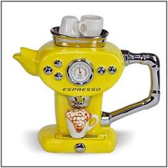 Unusual teapot