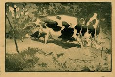 ✨ Allen William Seaby, British - Pigs, Woodcut printed with a tone block, signed in graphite below image and numbered x cm Allen Williams, The Fox And The Hound, Farm Yard, Wild Birds, British Museum, Natural History, Printmaking, Monochrome, Poppies