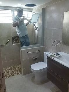 Cómo remodelar su baño de una forma elegante, moderna y funcional en la República Dominicana.