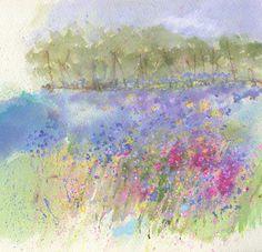 "Sue Fenlon, ""Bluebell Wood"""