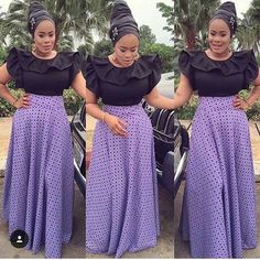 Admirable Ankara And Aso Ebi Styles For Beautiful Ladies. These are the latest aso ebi styles you& been expecting. Beautiful Ankara Styles, Beautiful Dresses, Beautiful Ladies, Ethnic Fashion, African Fashion, Executive Outfit, Cool Outfits, Fashion Outfits, Jeans Fashion