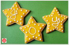 Star cookies with gl