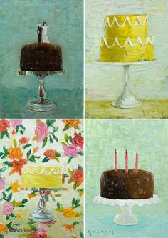 Cake Prints by Paul Ferney