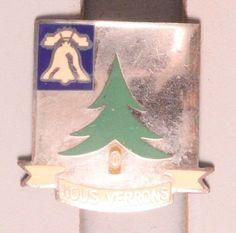 U.S. Army DI Pin:  Quartermaster Research Board - pb, GJ Sterling