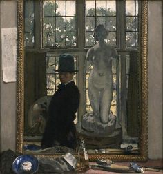 Myself and Venus, 1910 - William Orpen (British, 1878-1931)