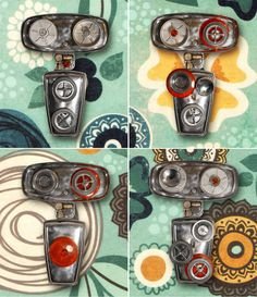 MAGNOBOTS   Interactive robot assemblage sculptures in art  with Robot recycled materials mixed media magnetized interactive sculpture Found...