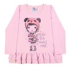Toddler Clothing - Collection: 2014 Fall/Winter.  Name: In the Moment Set. Available 3 colors with matching pair of stripped leggings.  http://www.pullabulla.com/In-the-Moment-Set-p/31218r.htm
