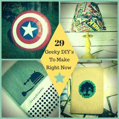 95 best geeky crafts and nerdy diy projects images on pinterest 29 geek diys to make right now solutioingenieria Images