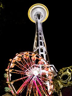 Seattle Center....Summer Is The Best Time Of Year!